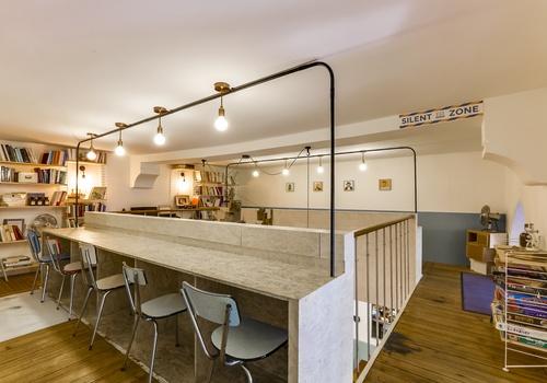 nuage caf coworking. Black Bedroom Furniture Sets. Home Design Ideas