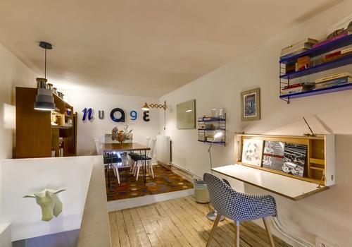 nuage caf coworking paris. Black Bedroom Furniture Sets. Home Design Ideas